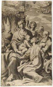 Madonna con Bambino Santa Margherita San Benedetto San Girolamo e un angelo