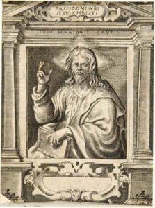 Cristo benedicente (dalla serie: La Passione di Nostro Signore Gesù Cristo)