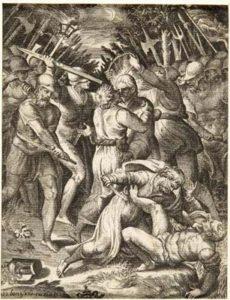 Cattura di Cristo nell'orto degli Ulivi (dalla serie: La Passione di Nostro Signore Gesù Cristo)